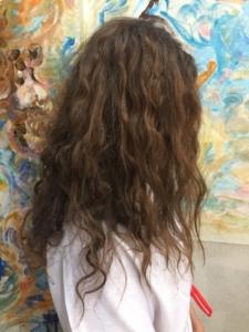 Trattamento alla cheratina su capelli colorati