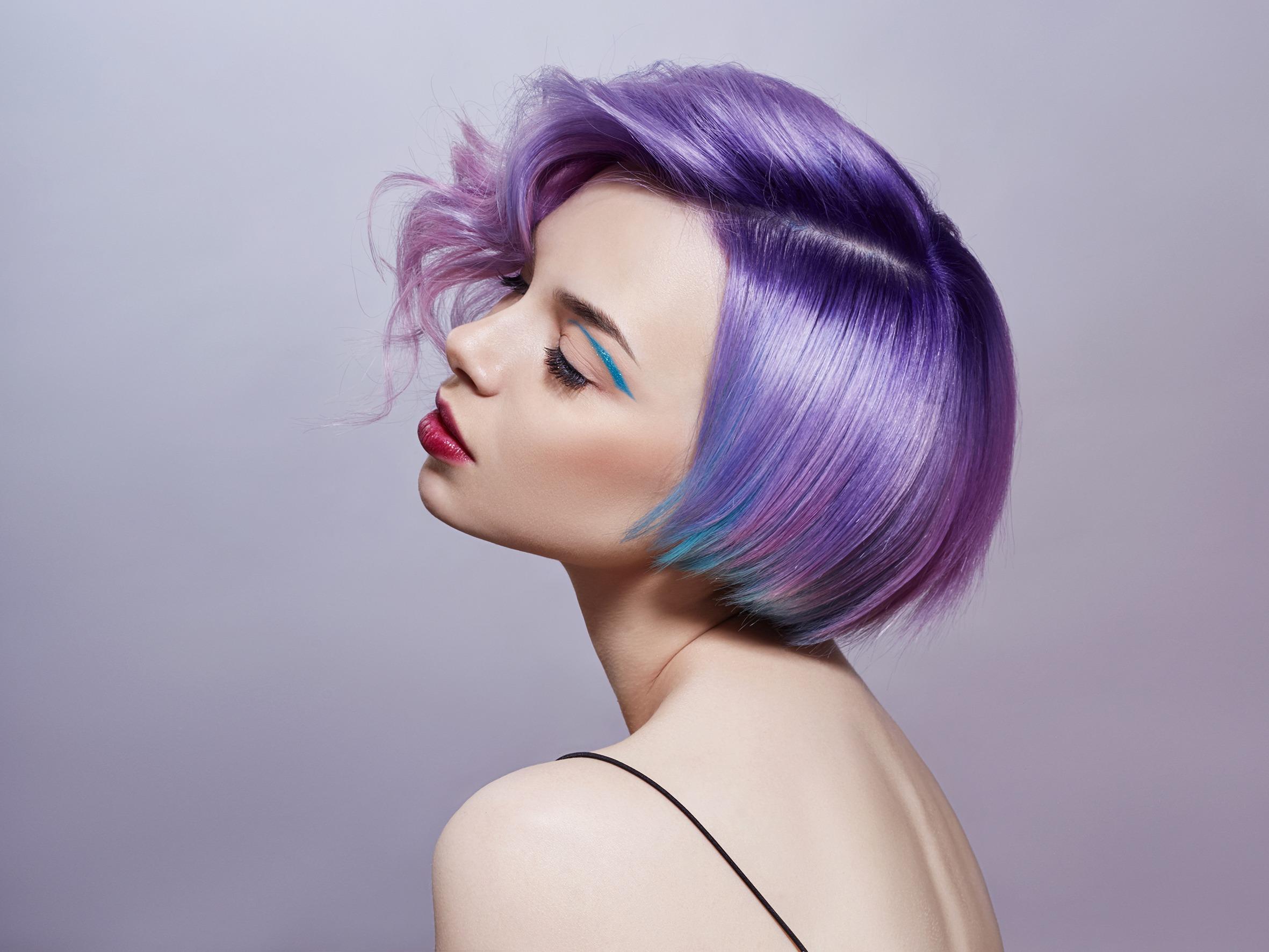 Fare i capelli colorati